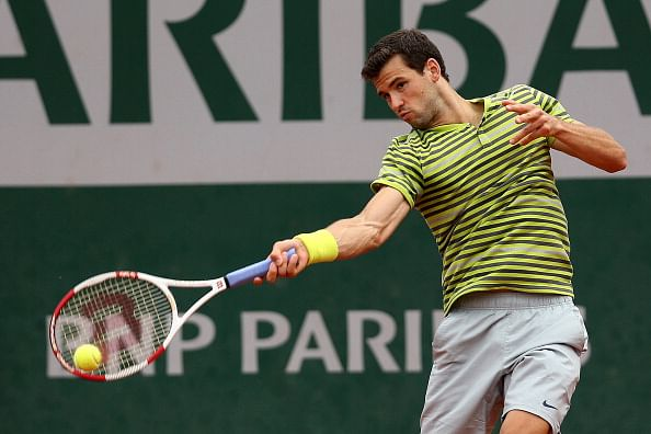 French Open: Dark clouds spread gloom as Grigor Dimitrov and Na Li follow Stan Wawrinka to the exit door