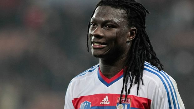 Five Premier League clubs reportedly chasing Olympique Lyon striker Bafetimbi Gomis