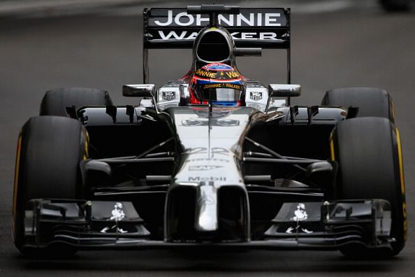 McLaren in the points at the Monaco Grand Prix