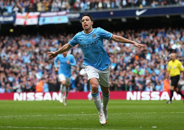 Top 10 highest paid footballers in the Premier League - Slide 10 of 10:Samir Nasri (Manchester City)
