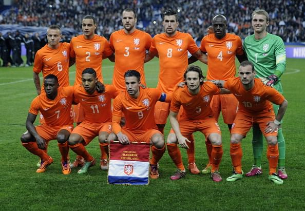 Netherlands World Cup 2018 Squad