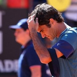 Roger Federer suffers shock defeat to Jeremy Chardy in Rome