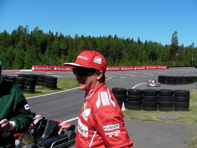 My rendezvous with Kimi Raikkonen in the Norwegian forests