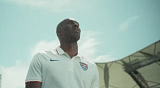 Kobe Bryant shows his admiration for FIFA World Cup