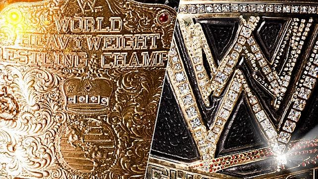 Title World Wwe World Heavyweight Title's