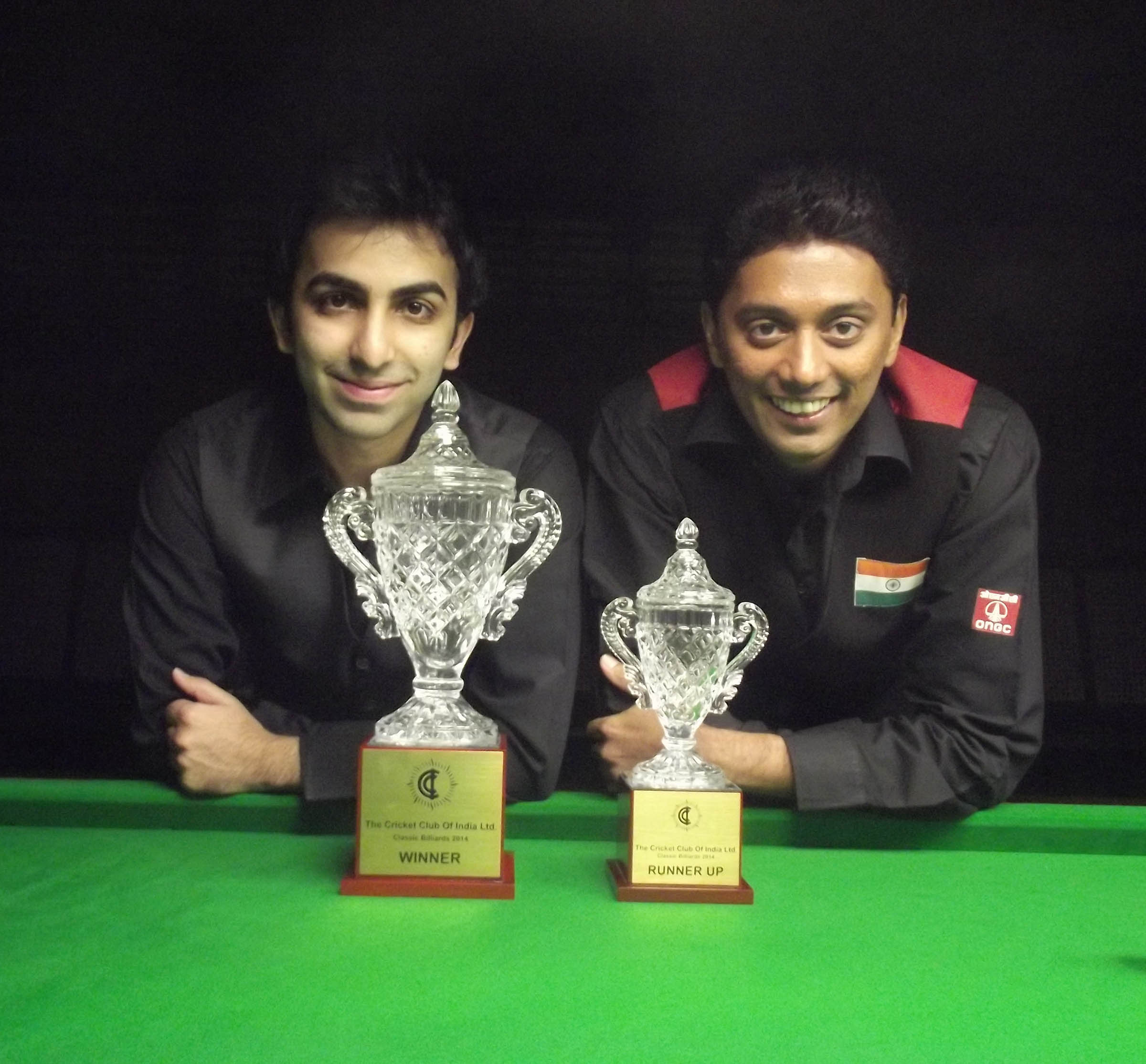 Unstoppable Advani reigns supreme at CCI Classic Billiards & Snooker Tournament 2014