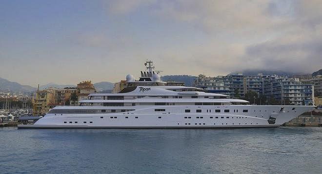 Leonardo DiCaprio in B... Leonardo Dicaprio's Yacht