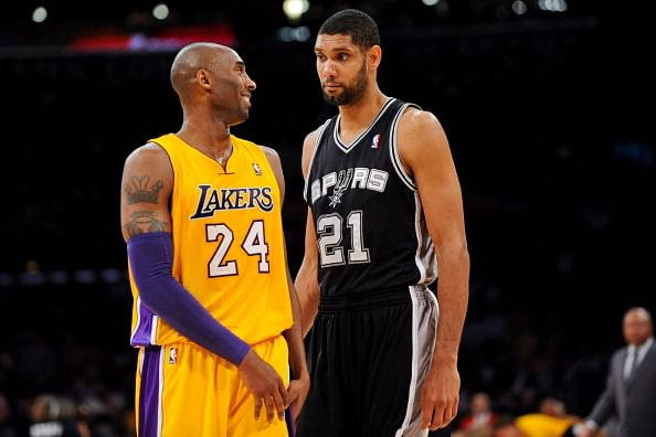 NBA: Who can stake claim to be the greatest player between Kobe Bryant and Tim Duncan?