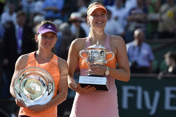 French Open: Maria Sharapova endures a determined Simona Halep to claim title