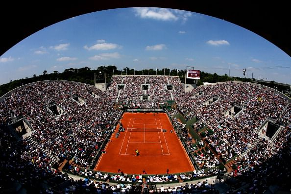 French Open: Getting personal with tennis, up close and real