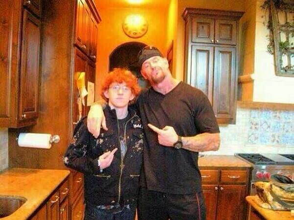 WWE: Meet The Undertaker's son in a rare photo with his dad
