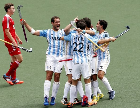 2014 Hockey World Cup: England protest against Argentina for fielding 12 men, but result stands unchanged