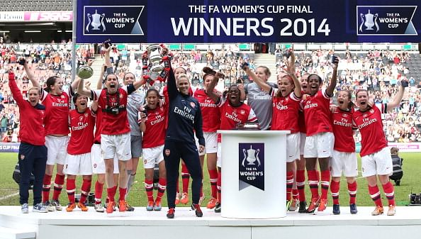 Arsenal Ladies clinch 13th FA Women's Cup title