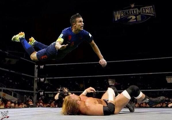 WWE superstar RVP