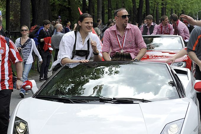 2014 World Cup Stars and Their Swanky Cars