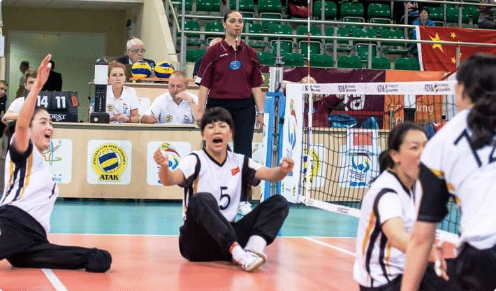 4 teams book spots in sitting volleyball event of 2016 Rio Paralympics