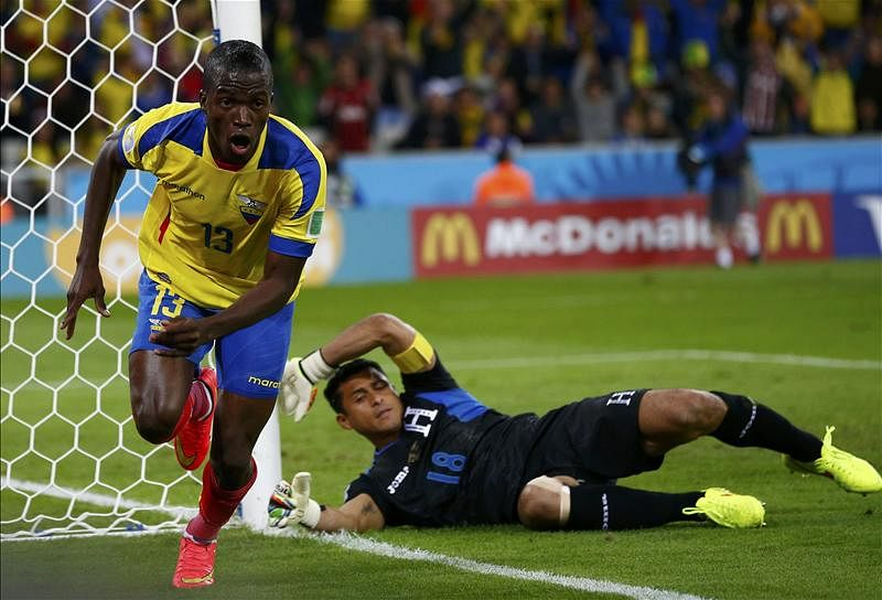 Rumour: World Cup talent Enner Valencia linked with Tottenham, Newcastle and Everton