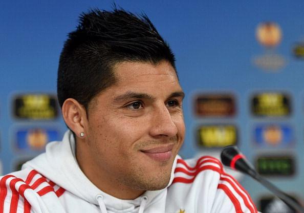 benfica midfielder enzo perez not keen on interested