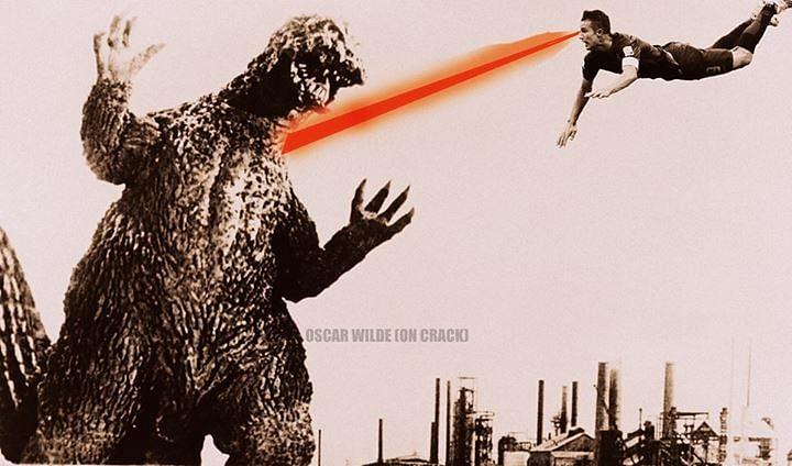 Robin vs Godzilla