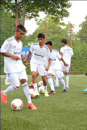 Bajaj Allianz Junior Football Camp 2014- Overview