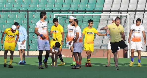 India look for turnaround against Spain