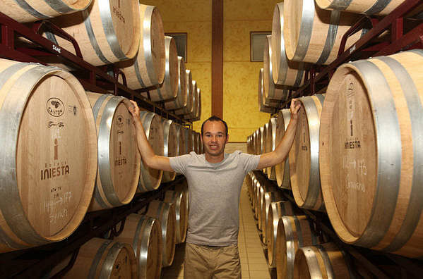 Andres Iniesta to promote his wine brand '116 minute' in India