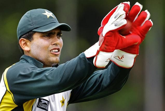 Kamran Akmal's debut in International Cricket