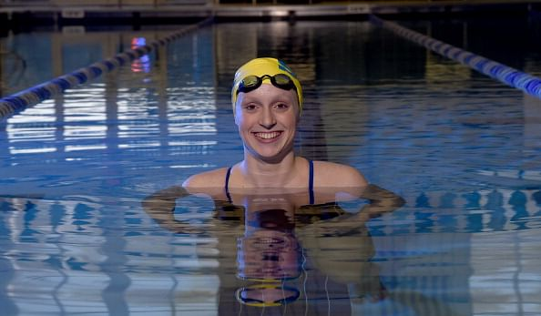 Katie Ledecky breaks two world records in Texas swim meet