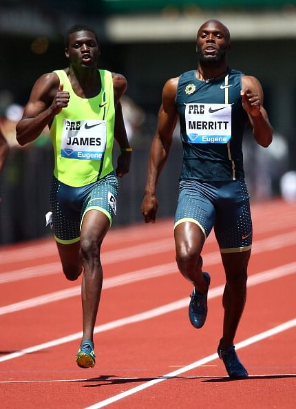 Kirani James wins thriller at Prefontaine Classic