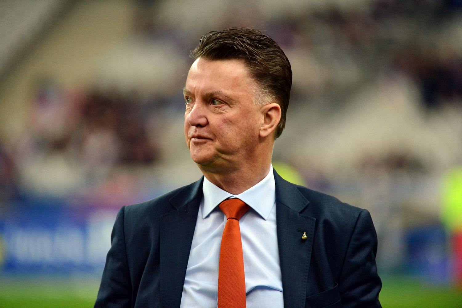 Van Gaal Refuses To Comment On Chicharito's Future