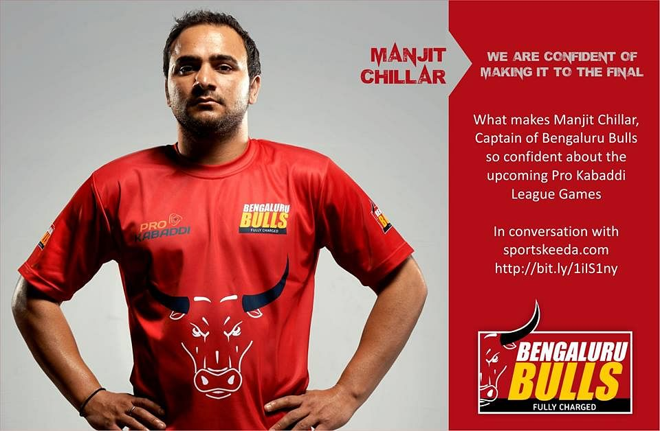 Pro Kabaddi League 2014: Exclusive interview with Bengaluru Bulls captain Manjit Chillar