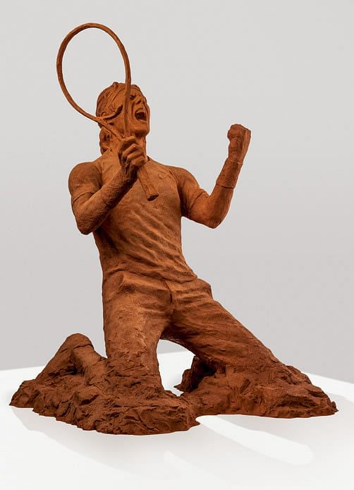 Nike unveils a Rafael Nadal statue made from Red Clay