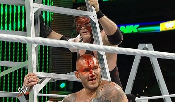 Randy Orton suffered a serious Randy Orton Money In The Bank 2014