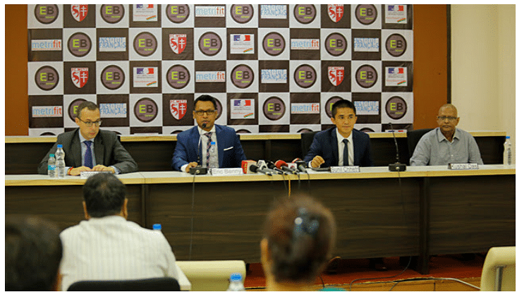 Sunil Chhetri becomes brand ambassador of Eric Benny Sports Management