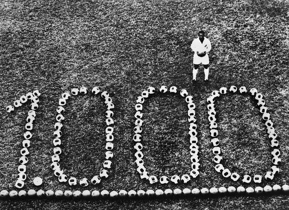 How many goals did Pele score in his career?