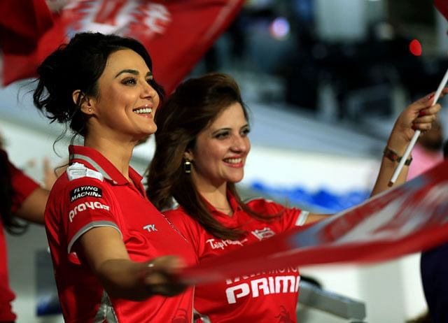 Preity Zinta rubbishes rumours of selling Kings XI Punjab shares