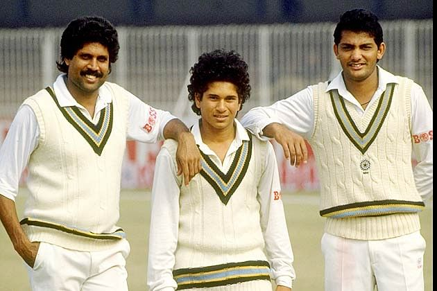 Sachin Tendulkar's debut In International Cricket