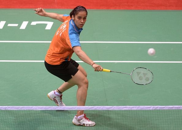 Indonesia Open: Saina wins her first match; Sindhu,Srikkanth and Kashyap crash out