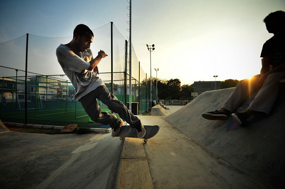 Skateboarding action hits Bangalore