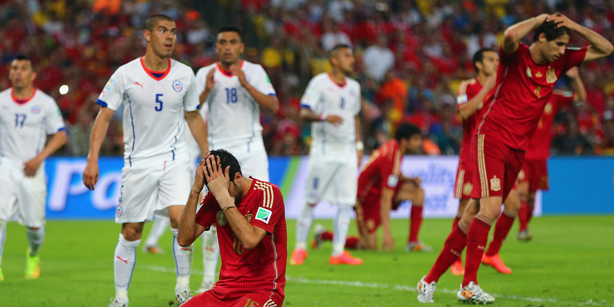 FIFA World Cup 2014: Spain vs Chile - Player ratings