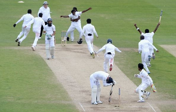 Sri Lanka pull off first series win in England after thrilling finale at Headingley