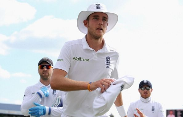 Stuart Broad becomes 4th player to take two Test hat-tricks