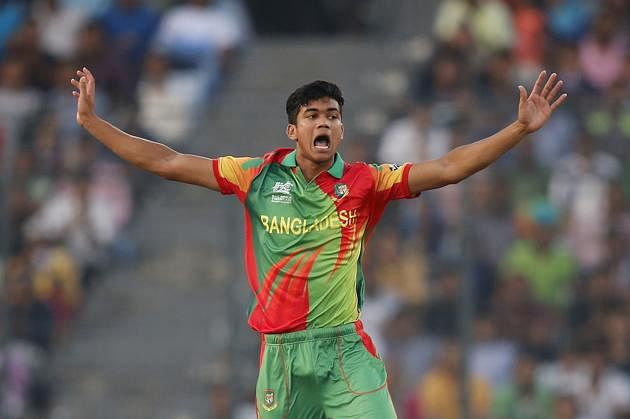 Taskin Ahmed, Jubair Hossain among Bangladesh probables for Windies tour