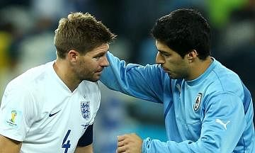 Steven Gerrard is the best player I have ever played with: Luis Suarez
