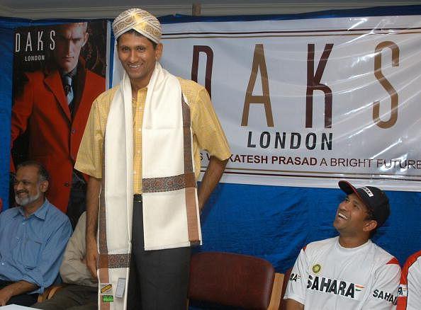 Ex-Indian pacer Venkatesh Prasad to make acting debut with Kannada film 'Sachin Tendulkar Alla'