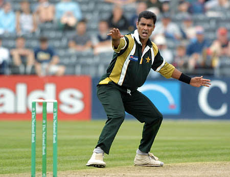 Waqar Younis's debut in International Cricket