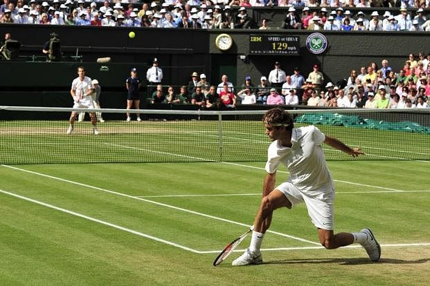 Wimbledon - the home of tennis!