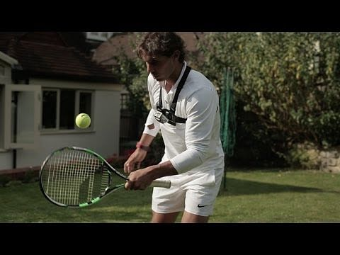 Wimbledon 2014: Rafael Nadal scores an incredible 406 with the side of his racket