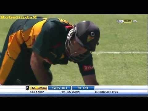 Video: Ricky Ponting fined for throwing his bat