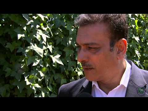 Wimbledon 2014: Ravi Shastri speaks about his relation with tennis